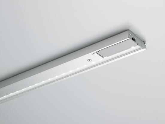 DNライティング(DNL) たなライト省電力・低発熱型 LUS-VE 368S(シルバー) (※ランプ・電源コード別売)※適合棚板サイズ450mm